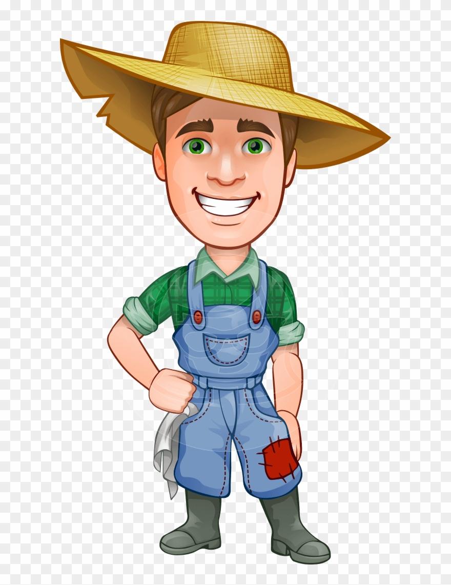 Farme clipart clip royalty free library Farmer Clipart Subsistence Farming - Cartoon Farmer Png Transparent ... clip royalty free library