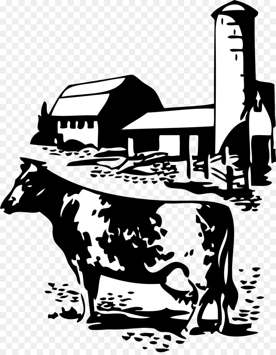 Farmer silhouette clipart image royalty free download White Background clipart - Milk, Farmer, Ox, transparent clip art image royalty free download