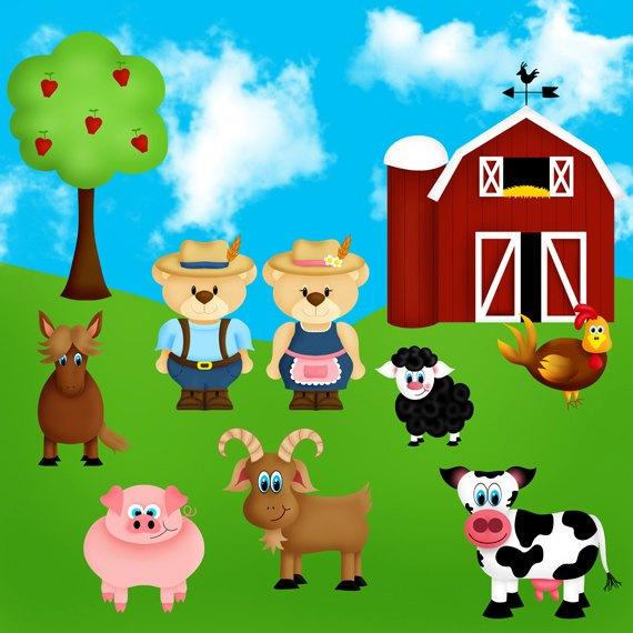 Farmyard clipart vector black and white download Farm yard clipart » Clipart Portal vector black and white download