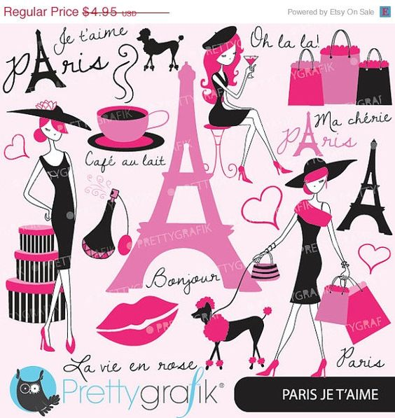 Fashion logo clipart commercial use banner free stock 60% OFF paris fashion clipart for scrapbooking, commercial use ... banner free stock