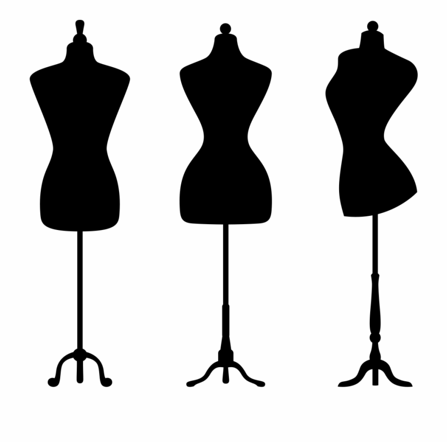 Fashion mannequin clipart graphic freeuse download Dress Form Silhouette At Getdrawings Com Free - Mannequin Clipart ... graphic freeuse download