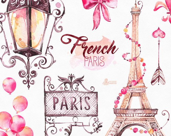 Fashion model clipart eiffel tower clip art picture black and white stock French Paris. Watercolor Clipart, shoes, fashion, bulldog, eiffel ... picture black and white stock