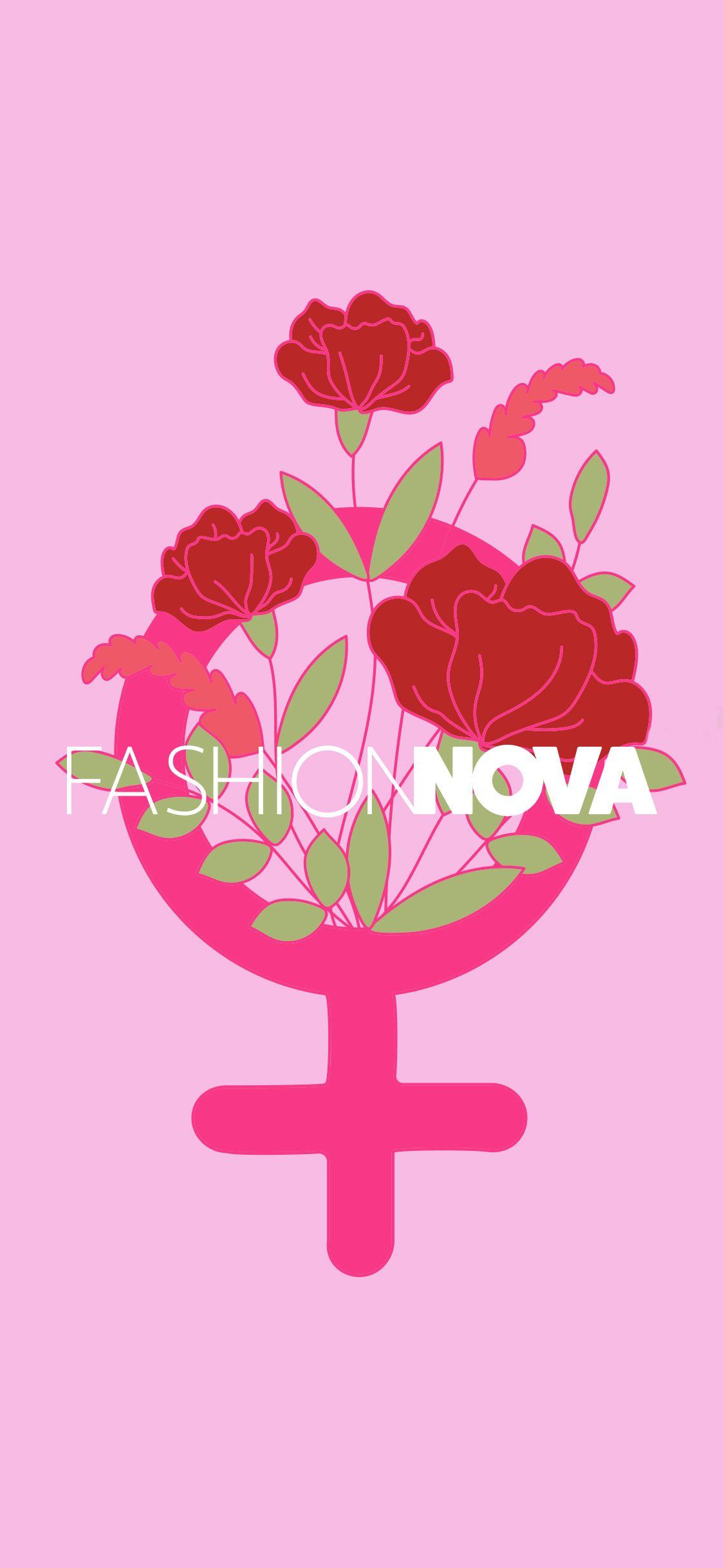 Fashion nova logo clipart clip art black and white download A wallpaper displaying the standard female venus symbol | Social ... clip art black and white download