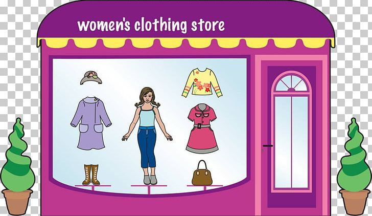 Fashion shop clipart png free library Clothes Shop Clothing Boutique Fashion PNG, Clipart, Cartoon, Color ... png free library