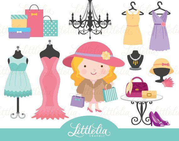 Fashion shop clipart clipart free download Boutique clipart - Fashion clipart - Retail clipart 15036 in 2019 ... clipart free download