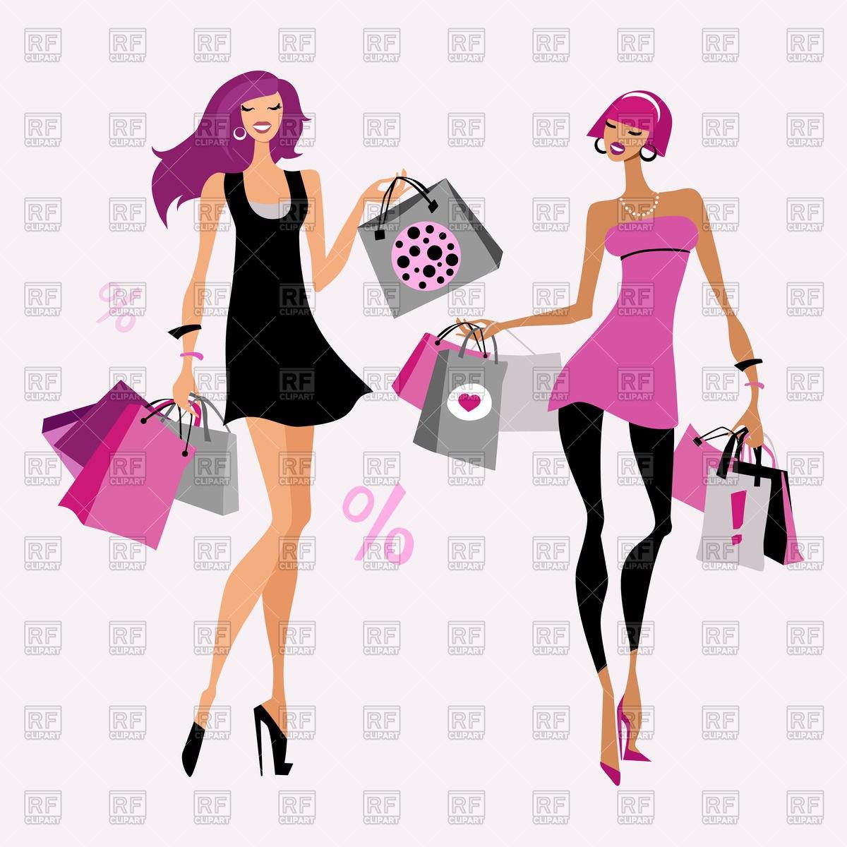 Fashion shopping clipart image royalty free Fashion shopping clipart 7 » Clipart Portal image royalty free