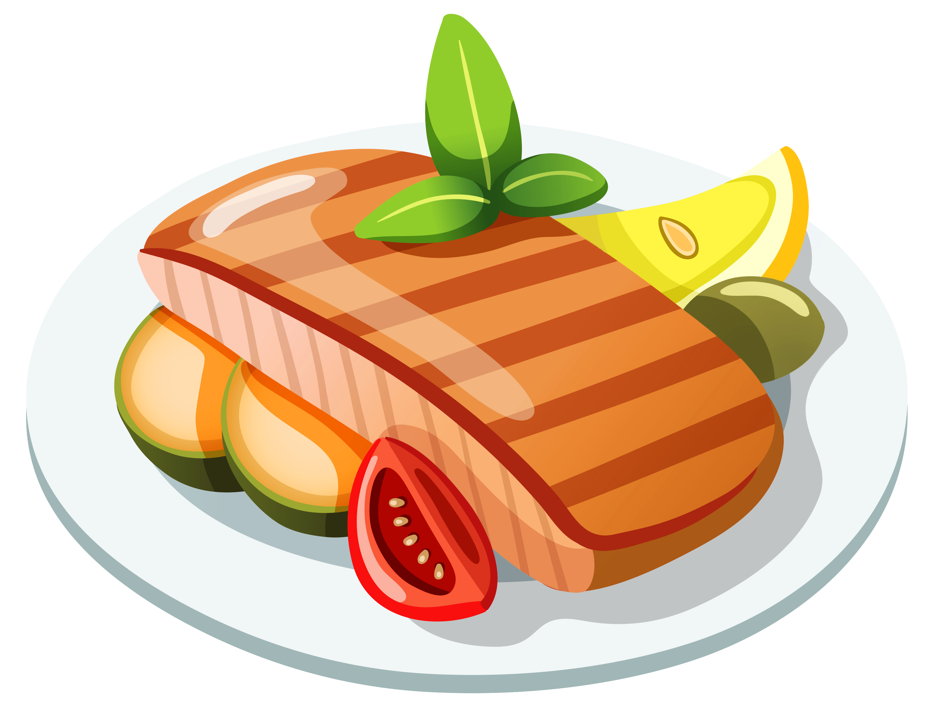 Fast food icon clipart image black and white library Food Icon - Grilled Steak PNG Clipart png download - 3232*2466 ... image black and white library
