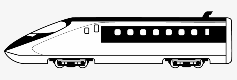 Fast train clipart black and white picture royalty free download Bullet Train Clipart 101 Clip Art - High Speed Train Clip Art PNG ... picture royalty free download
