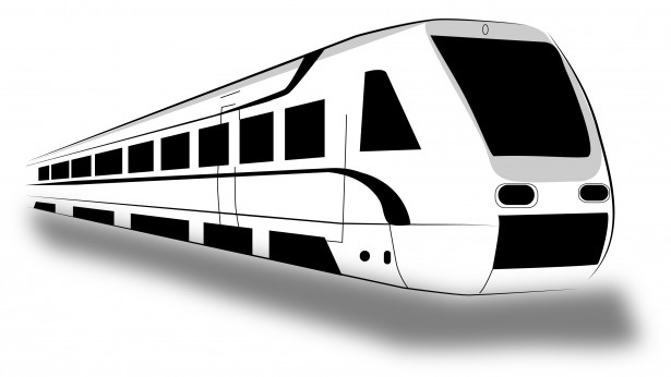Fast train clipart black and white picture transparent stock Train Clipart Free Stock Photo - Public Domain Pictures picture transparent stock