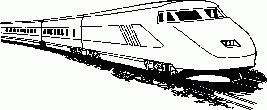 Fast train clipart black and white png freeuse stock Train Clipart Passenger Train – Pencil And In Color Train Clipart ... png freeuse stock