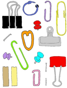 Fasteners clipart vector transparent library Paper Fasteners Clip Art | Clipart Panda - Free Clipart Images vector transparent library