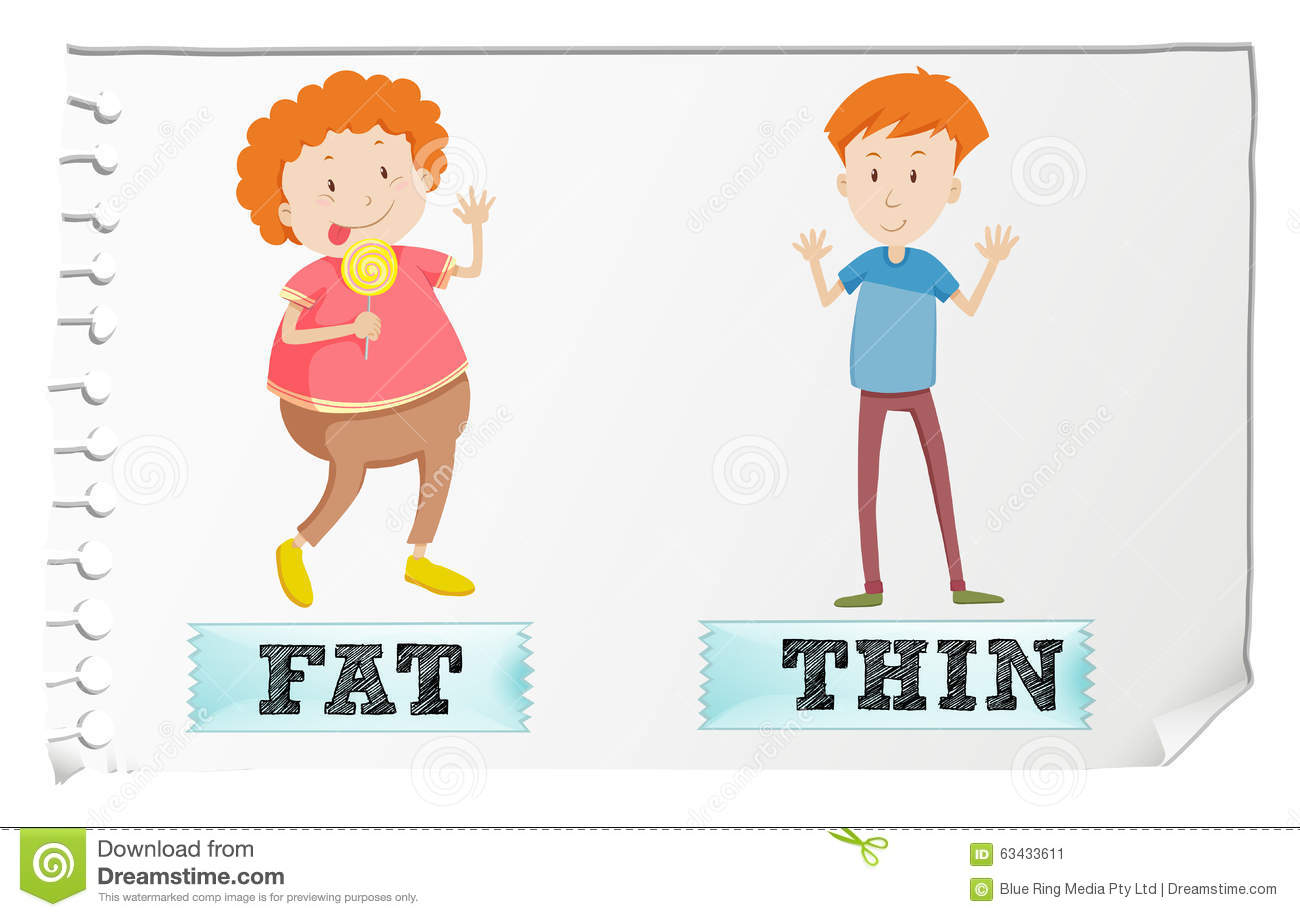 Fat and thin clipart clip transparent Fat and thin clipart - ClipartFest clip transparent