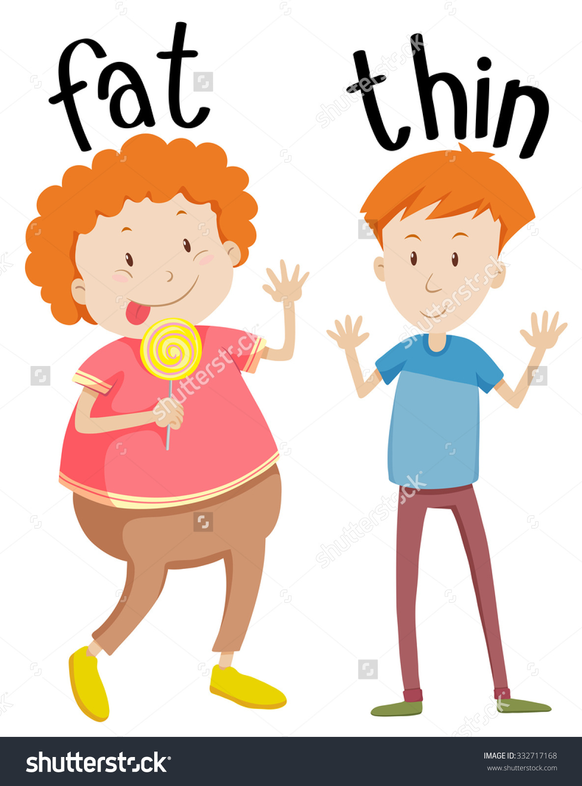 Fat and thin clipart banner transparent library Fat thin clipart - ClipartFest banner transparent library