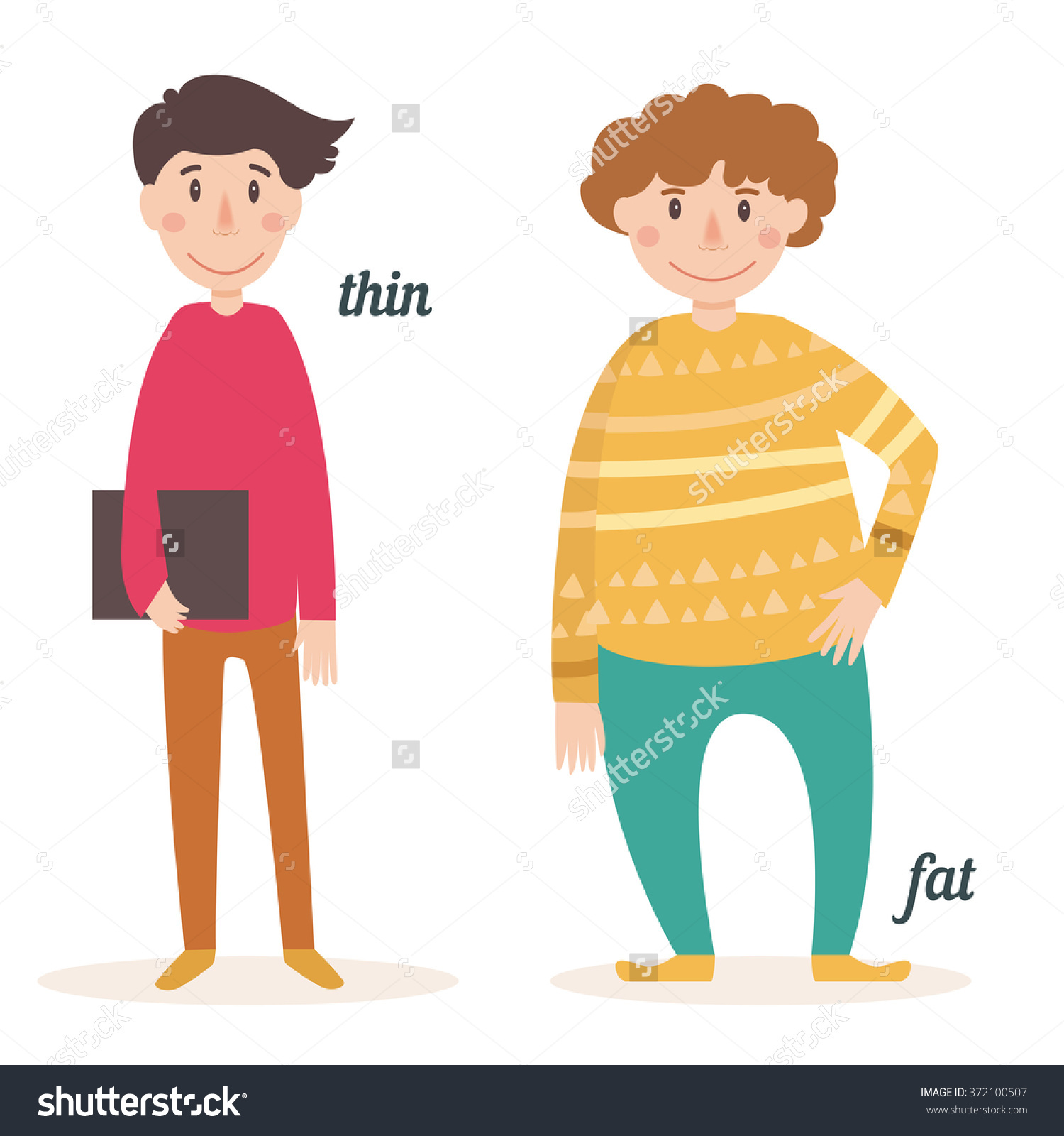 Fat and thin clipart png free download Fat to skinny people clipart - ClipartFest png free download