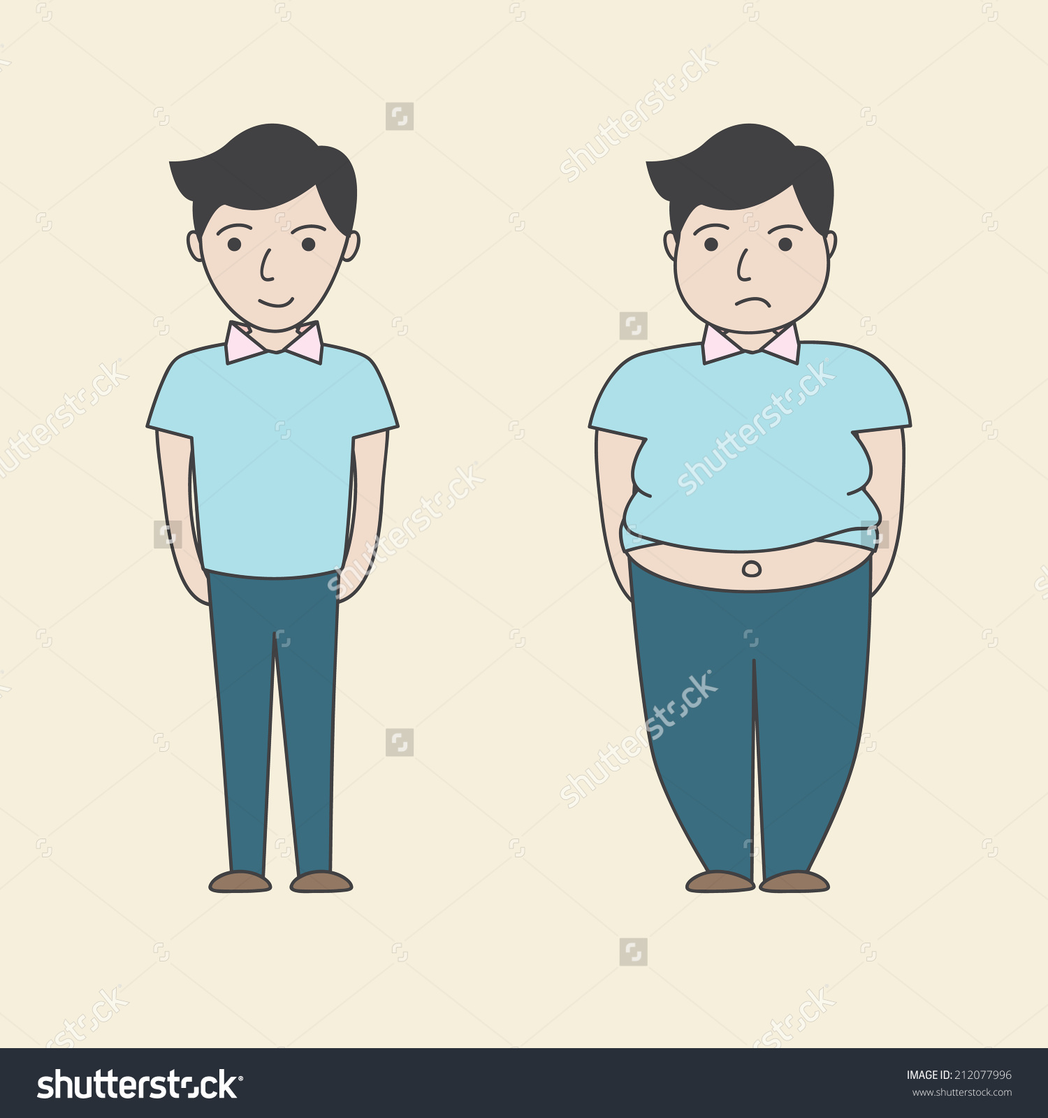Fat and thin clipart jpg royalty free Fat and thin clipart - ClipartFest jpg royalty free