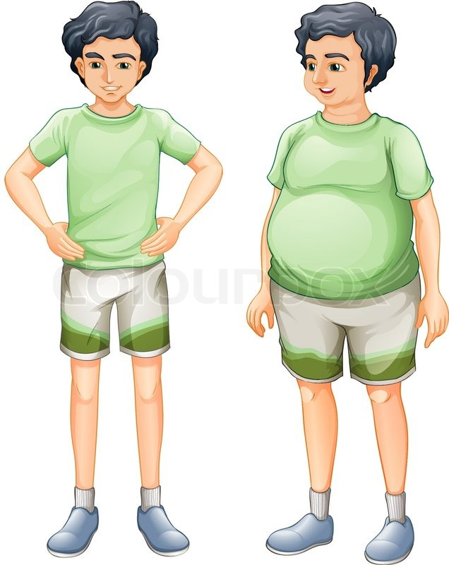 Fat and thin clipart clip art library library Thin Fat Clipart - Clipart Kid clip art library library