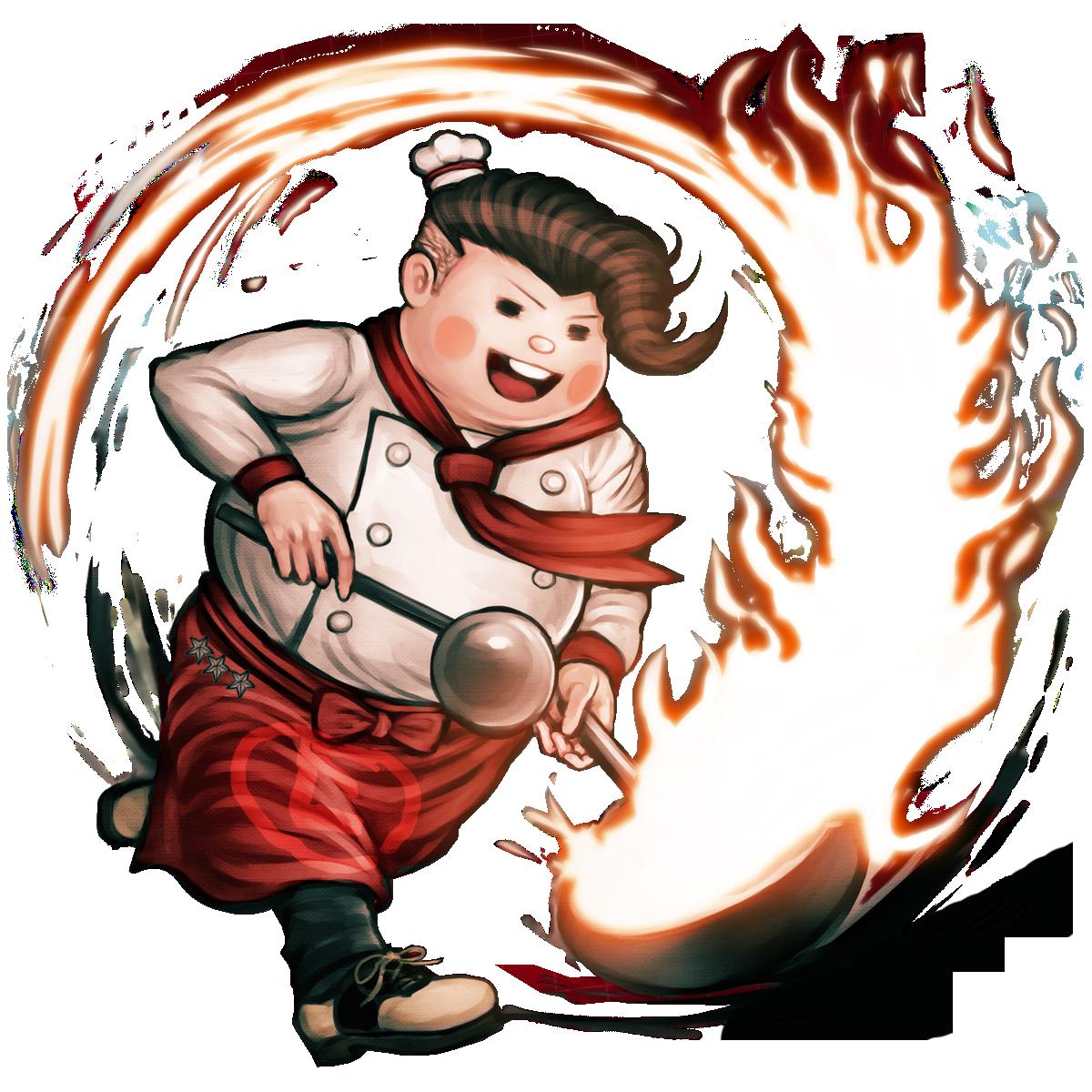 Fat boy playing basketball clipart svg black and white stock Teruteru Hanamura | Danganronpa Wiki | FANDOM powered by Wikia svg black and white stock