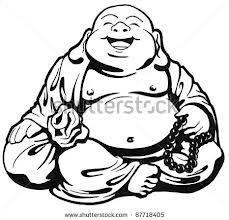 Fat buddha clipart image simple buddha drawing happy - Google Search | Zen Doodle Ideas ... image