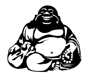 Fat buddha clipart jpg free library Smiling Buddha   Free Images at Clker.com - vector clip art online ... jpg free library