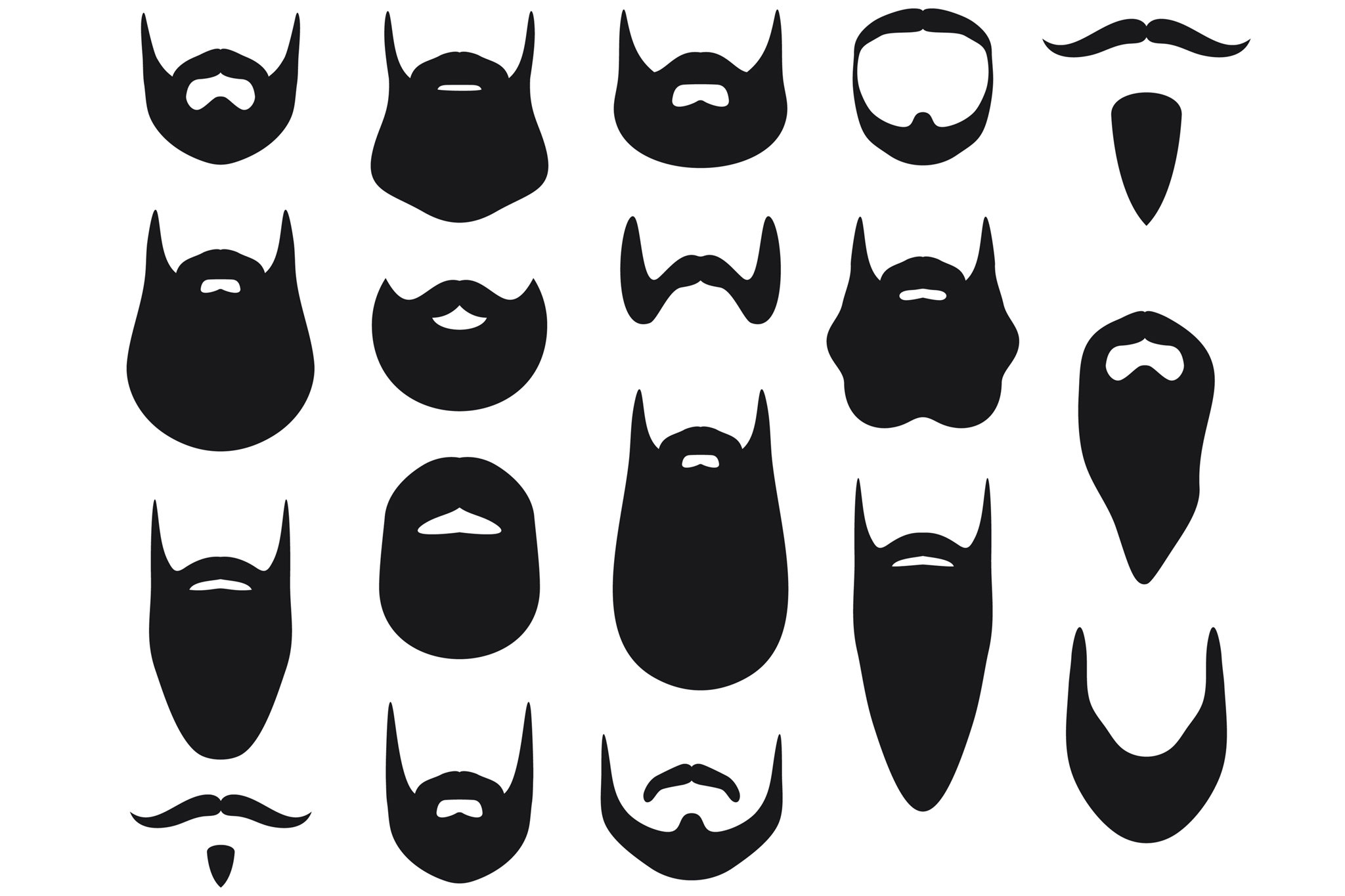 White beard cut out clipart picture library Oh, to Be Just Another Bearded Face - The New York Times picture library