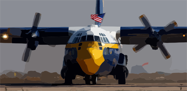 Fat navy blue star clipart picture transparent The Marine Corps Manned C-130 Aircraft Affectionately Called Fat ... picture transparent