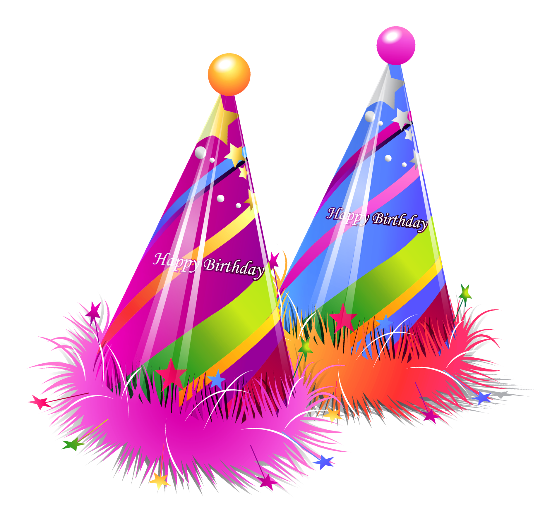 Fat star clipart picture library download Happy Birthday Party Hats Transparent PNG Clipart | Gallery ... picture library download
