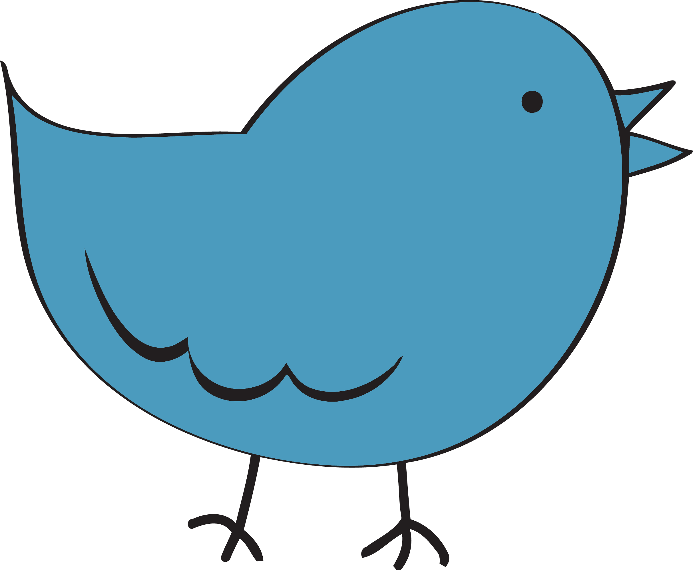 Fat star clipart clip royalty free library Steel Blue Cute Bird Fat Clipart Png | Clipartly.com clip royalty free library