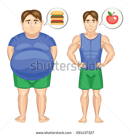 Fat thin clipart clip transparent download Fat Man Thin Man Stock Images, Royalty-Free Images & Vectors ... clip transparent download