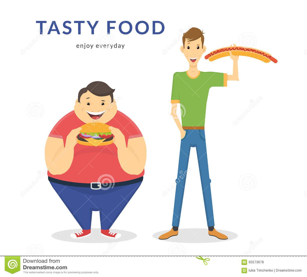 Fat thin clipart graphic free Thin Fat Men Stock Illustrations – 114 Thin Fat Men Stock ... graphic free