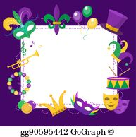 Fat tuesday clipart images picture black and white download Fat Tuesday Clip Art - Royalty Free - GoGraph picture black and white download