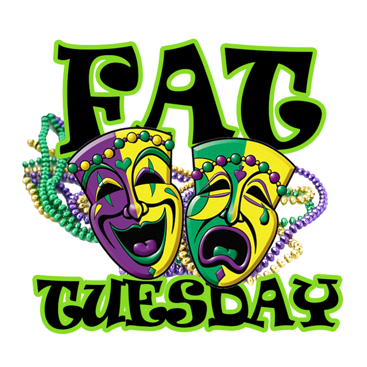 Fat tuesday clipart images vector transparent library Mystic Krewe of Aquarius Annual Fat Tuesday Parade vector transparent library