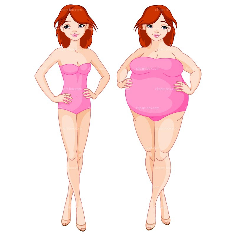 Fat vs thin clipart graphic free From Fat To Thin Clipart#2091753 graphic free