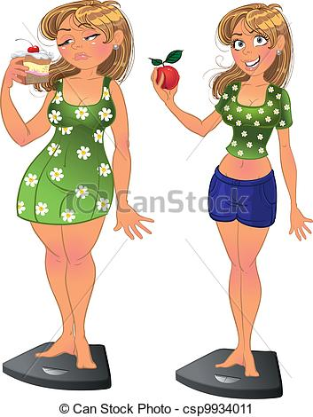 Fat vs thin clipart picture royalty free Slim Illustrations and Clipart. 32,420 Slim royalty free ... picture royalty free