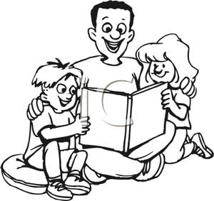 Kids helping siblings clipart black and white image royalty free download Dad Clipart Black And White | Free download best Dad Clipart Black ... image royalty free download