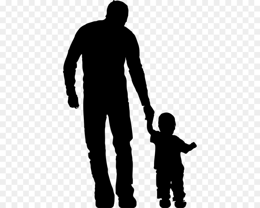 Father and child clipart black and white clipart royalty free Child Background png download - 463*720 - Free Transparent Father ... clipart royalty free