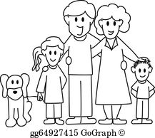 Father and daughter clipart black and white png royalty free library Father And Daughter Clip Art - Royalty Free - GoGraph png royalty free library
