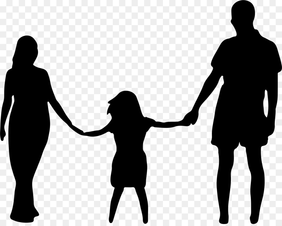 Father and daughter clipart black and white picture freeuse download Love Black And White clipart - Father, Mother, Child, transparent ... picture freeuse download