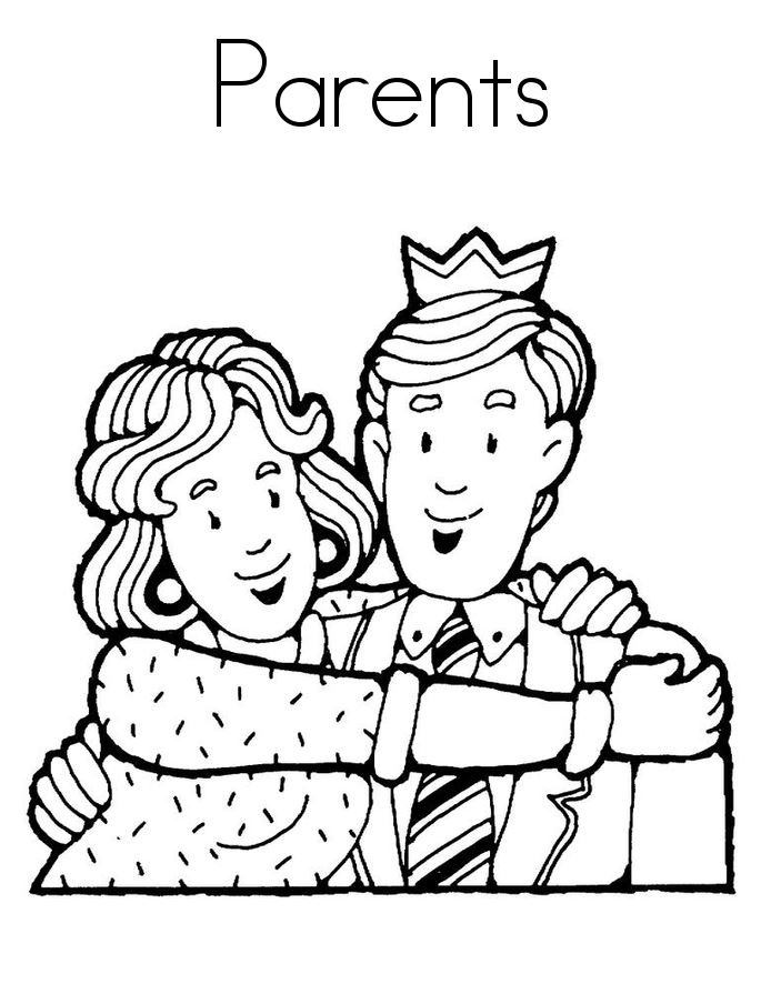 Father and mother clipart black and white black and white Parents Clipart Black And White | Letters Example intended for ... black and white