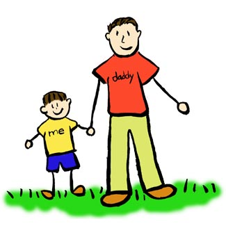 Father son clipart vector freeuse library Father And Son Drawing at GetDrawings.com | Free for personal use ... vector freeuse library