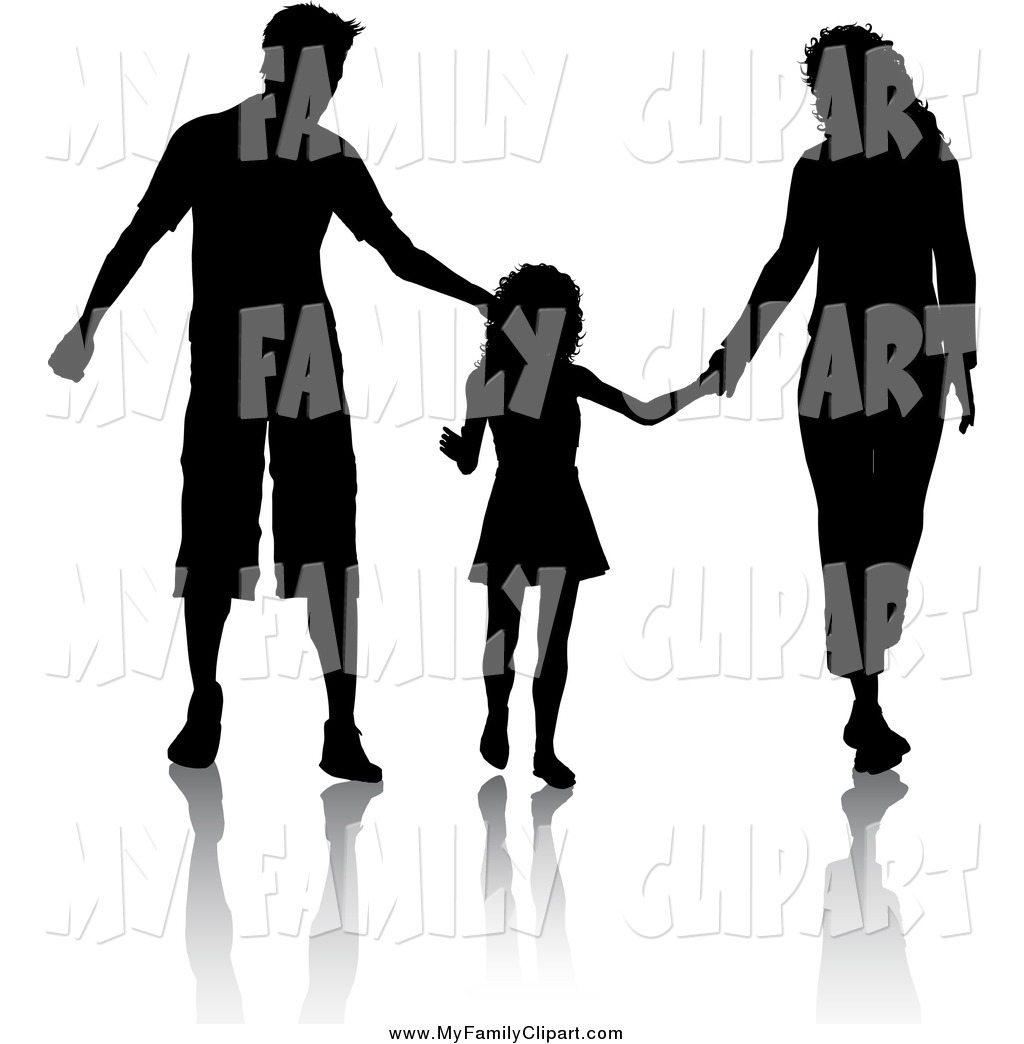 Mom dad son clipart black and white png free stock Father Walking Cliparts | Free download best Father Walking Cliparts ... png free stock