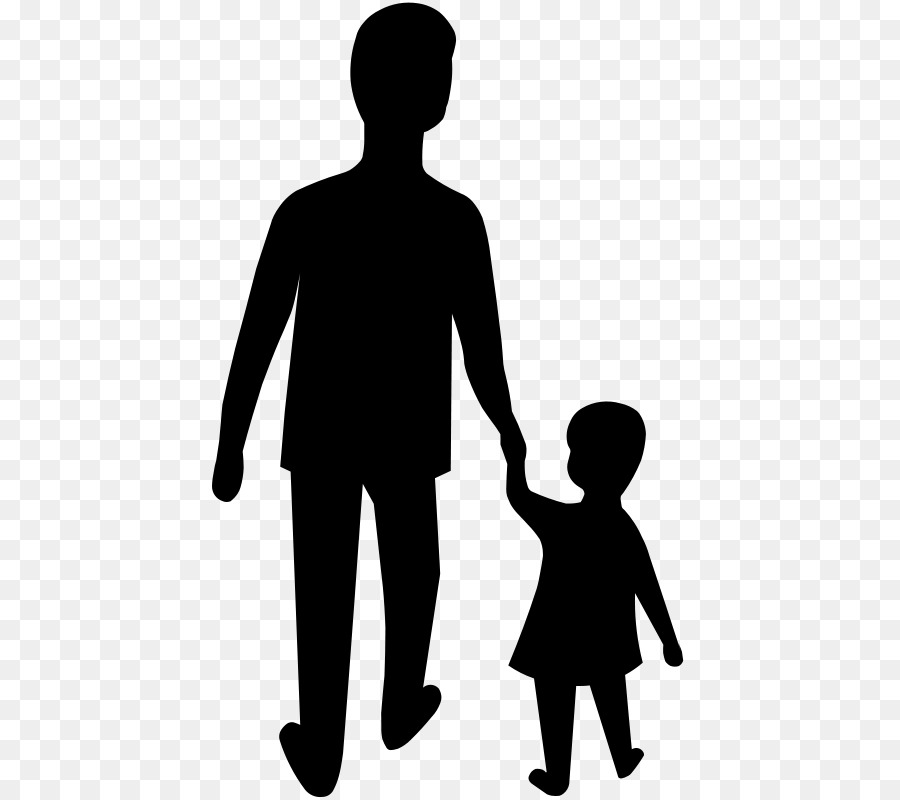 Father and son hand black and white clipart picture transparent stock Man Cartoon png download - 480*800 - Free Transparent Father png ... picture transparent stock