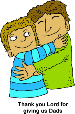 Father and son hugging clipart svg royalty free download Image: Father Hugging Son | Christart.com svg royalty free download