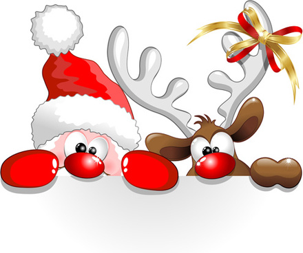 Santa clipart free download graphic library Free Santa Reindeer Cliparts, Download Free Clip Art, Free Clip Art ... graphic library