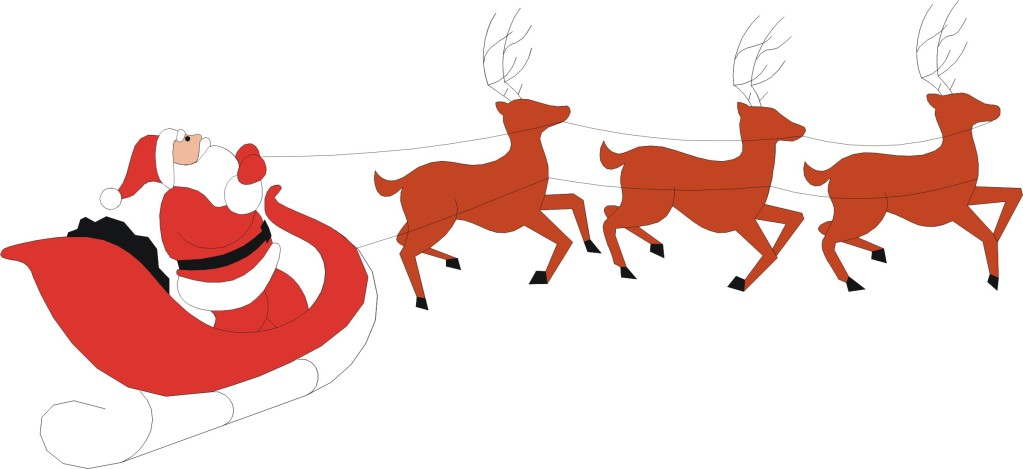 Santa in sleigh with reindeer clipart clip art download Free Santa And Reindeer Clipart, Download Free Clip Art, Free Clip ... clip art download