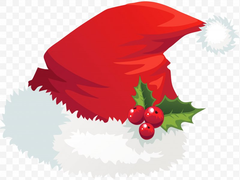 Father christmas hat clipart image freeuse download Santa Claus Hat Christmas Clip Art, PNG, 3745x2802px, Santa Claus ... image freeuse download