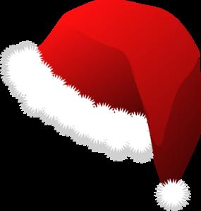 Father christmas hat clipart clip art transparent stock Santa Hat Clip Art at Clker.com - vector clip art online, royalty ... clip art transparent stock