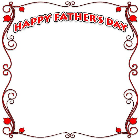 Father s day border clipart transparent library Fathers day border clipart 6 » Clipart Portal transparent library