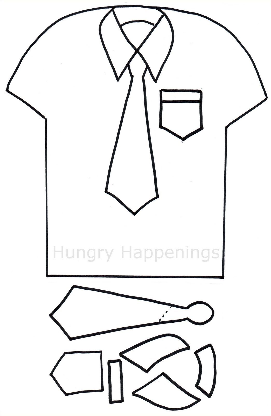 Fathers day tie clipart cakepops free printables svg download Shirt and Tie Pizza   Craft Ideas   Tie template, Fathers day, Shirt ... svg download