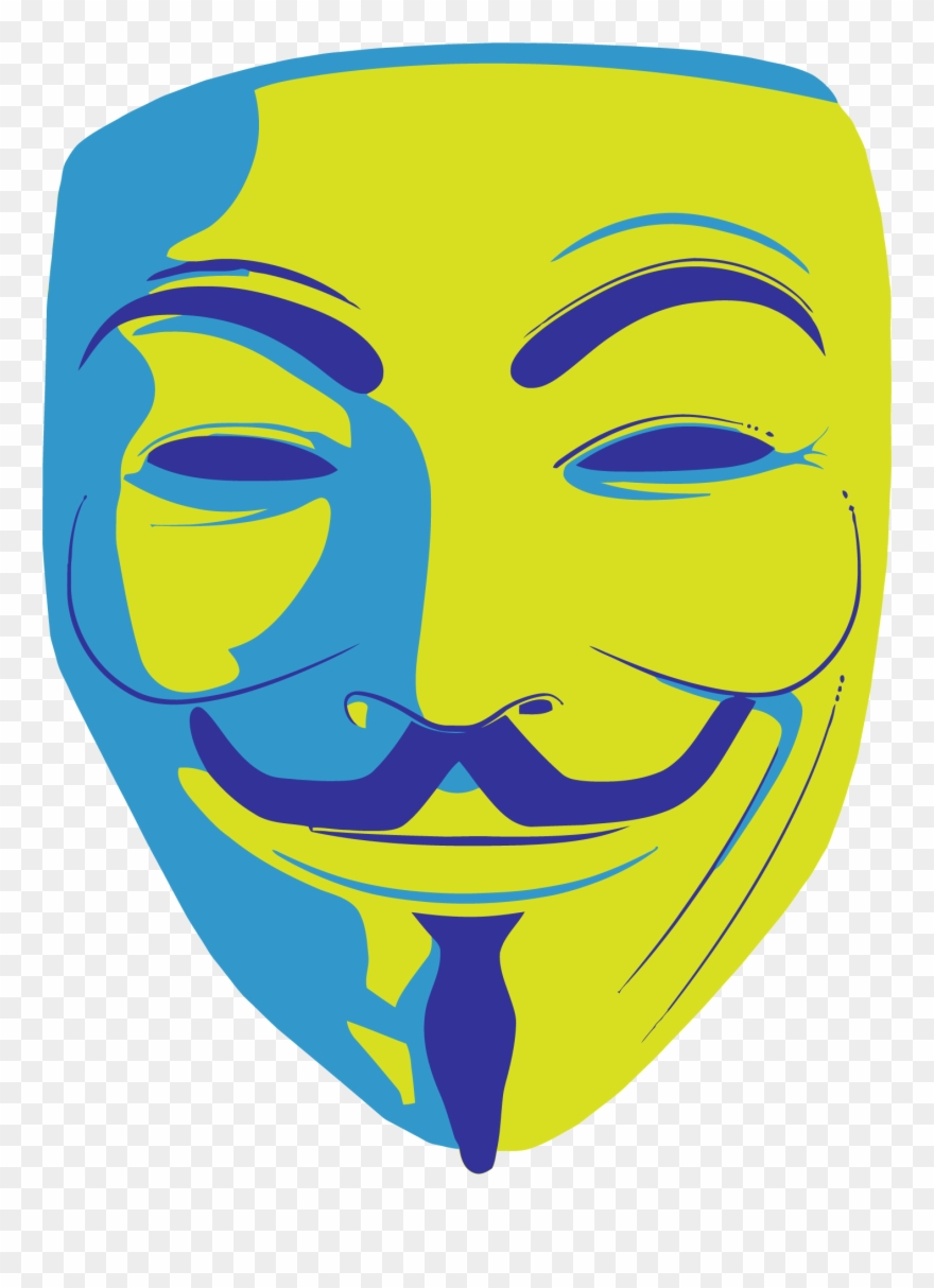 Fawkes clipart freeuse download Transparent Mask Anonymous - Guy Fawkes Mask Cartoon Clipart ... freeuse download
