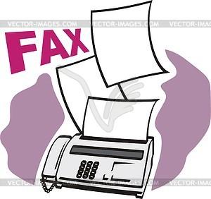 Fax cliparts clip art black and white download Fax - Vector Clip Art - 282*300 - Free Clipart Download ... clip art black and white download